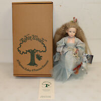 """Robin Woods Lady of the Lake Camelot Castle Coll, 14"""" Vinyl Doll w/ Box"""