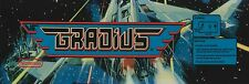 Gradius Video Game Marquee High Quality Metal Magnet 2 x 6 inches 9150