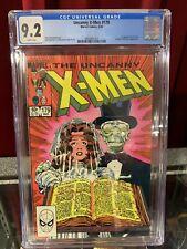 Uncanny X-Men #179 CGC 9.2 Key! Marvel Comics, 1984, MCU