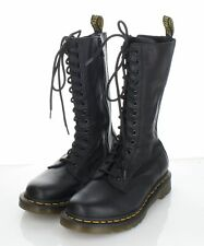 08-63 NEW $180 Women's Sz 7 M Dr. Martens 1B99 Leather 14-Eye Zip Boot In Black