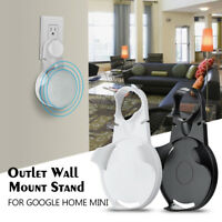 Wall Outlet Mount Holder Hanger Stand Grip for Google Mini Voice Assistants