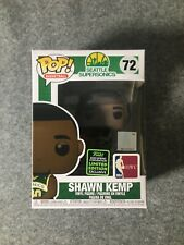 FUNKO POP BASKETBALL SEATTLE SUPERSONICS # 72 SHAWN KEMP Vinyl Figure 2020 ECCC