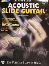 Acoustic Slide Guitar, Book & Cd By Keith Wyatt