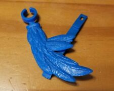 Vintage Masters of the Universe MOTU Weapon Stratos Blue Wing Part Broken Strap