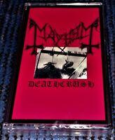 MAYHEM - Deathcrush. Brand New & Sealed Cassette Tape Very Rare