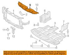 KIA OEM Forte Radiator Core Support-Sight Shield Splash Cover Panel 86356B0000