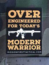 Mission First Tactical, Modern Warrior Sticker.