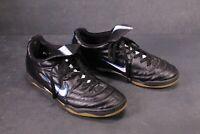SB758 NIKE Tiempo 750 Indoor Herren Fußballschuhe Gr. 44,5 schwarz weiß