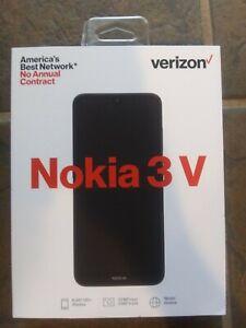 Nokia 3 V - 16GB - Black (Verizon) (Single SIM)