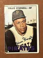 1967 Topps Willie Stargell Card #140 VG HOF Pittsburgh Pirates