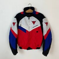 90s Vintage Rare Men's Dainese Racing Bike F1 Motorcycle Jacket Size 48