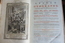 Middleton. New and complete System of Geography, 1778, Bowen maps, plates, folio