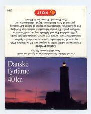 Denmark 1996 Lighthouse stamps