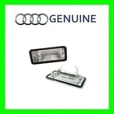 NEW OEM License Plate Light Lens LH Audi A3 A4 B6 B7 A5 A6 C6 A8 D3 Q7 RS4 2001-
