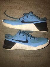 Nike Men's Metcon 2 Blue Glow/ Black/White CrossFit Training Shoe Size 9.5