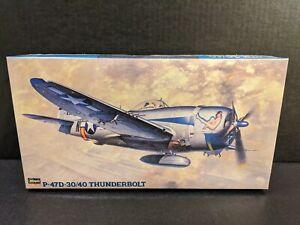 New factory sealed 1/48 Hasegawa P-47D-30/40 Thunderbolt #09141 JT41