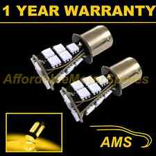 2X 382 1156 BA15s 207 P21W AMBER 21 SMD LED REAR INDICATOR LIGHT BULBS RI201702