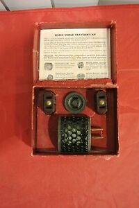 Vintage SCHICK World Traveler's  Kit