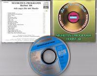 Koch Records Promo-CD 1988 Neuheiten Herbst '88 Schlager Unterhaltung Volksmusik