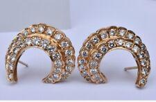 Diamant Boucles D'Oreilles 14k