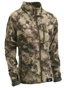 TrueTimber Women's Pulse Soft-Shell Jacket - Viper Western Camo MEDIUM $155