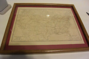"""""""AIRWAY and AIRPORT MAP OF THE U.S"""" Original 1928 aviation map"""