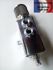 Récupérateur de fluide alu 80x80x160mm avec purge et reniflard, VENDEUR FRANCAIS