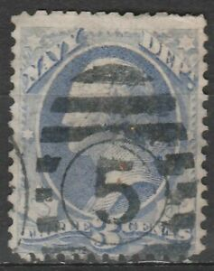 USA Scott #  O 37 Official Navy Department  3 Cent used  ( o37-5)