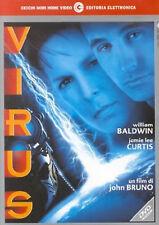 VIRUS DVD Jamie Lee Curtis William Baldwin Original UK Rele Brand New Sealed R2