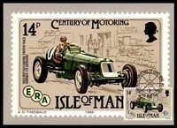 ISLE OF MAN MK 1985 AUTOS OLDTIMER CARS ERA MAXIMUMKARTE MC CM ab04