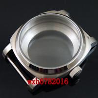 44mm brushed case polished bezel 1950 style fit ETA 6497 6498 ST36 movement