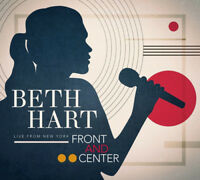 Beth Hart : Front and Center: Live from New York CD (2018) ***NEW***
