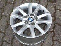 1x BMW Alufelge Sternspeiche 136 3er E46 E36 Z3 7x16 ET47 6762299