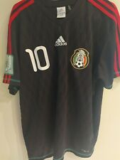 Mexico Blanco 10 National team Shirt 2010 M Adidas