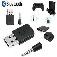 3.5mm Bluetooth Dongle USB Adapter Receiver for PS4 Controller Gamepad Console
