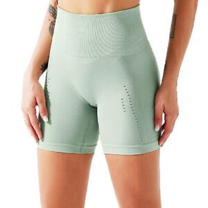 Womens Athletic Yoga Shorts Workout Gym High Waist Booty Shorts Beach Hot Pants