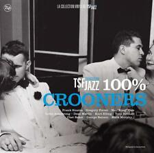 100% CROONERS COLLECTION JAZZ-TONY BBENNETT,FRANK SINATRA... 2 VINYL LP NEW