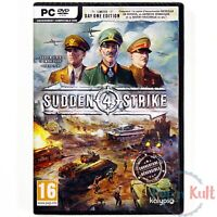 Jeu Sudden Strike 4 Limited Day One Edition [VF] sur PC NEUF sous Blister