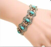 Crystal Lava Stones Bracelet Healing Chakra Beads Jewellery Mala Reiki Anxiety