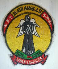 RIDE NUNG - US FLIGHT PATCH - DEATH ANGEL - VMF(AW) 235 - Vietnam War - 4162