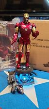 Hot Toys Iron Man Mark 3 MK III 1/4 Scale Figure Deluxe Version QS-012