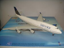"Inflight 200 United Airlines UA B747-400 ""2010s Merge color"" 1:200 DIECAST"