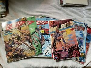 Evangeline Complete 1st Series, #1-8 2nd Series & Special; 1st Chuck Dixon Comic