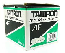 Tamron 71DN Af Asph Ld 28-200mm 1:3 .8-5.6 per Nikon Af-D + Close Up Lens