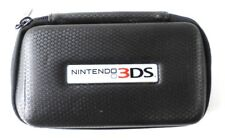 Power A Official Nintendo 3DS Rugged Protective Zippered Carrying Case Black