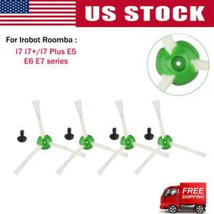 Nylon 4x side brush filter for Robot Roomba I7 series / E5 / E6 vacuum cleaners