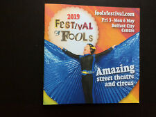 BELFAST;  FESTIVAL of FOOLS; 2019 promo booklet 33+ pages
