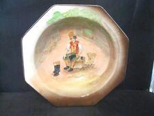 "Royal Doulton Dickens Ware Sam Weller Octagon Bowl  "" The Cobbler' 1950's"