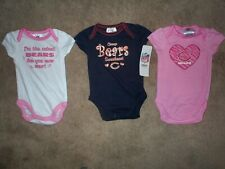 964c1e16ce277 (3) Chicago Bears nfl INFANT BABY NEWBORN CREEPER Jersey Shirt 0-3M 0