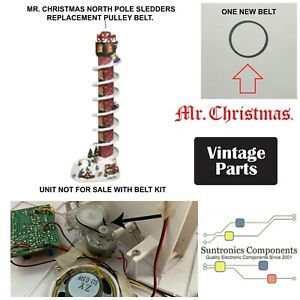 Mr Christmas North Pole Sledders PART-PULLEY BELT (unit not for sale)